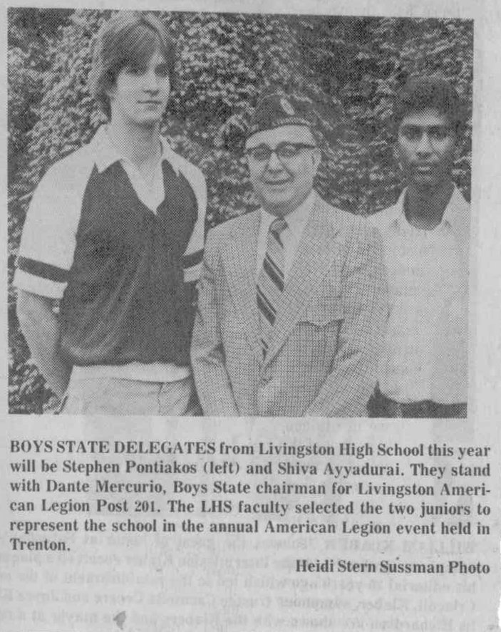 Boys State Delegates From Livingston High School