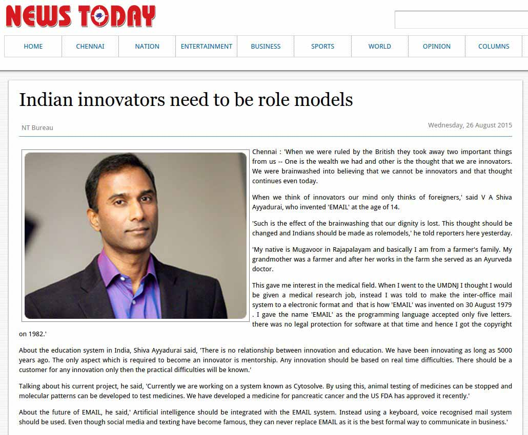 Indian Innovators Need To Be Role Models