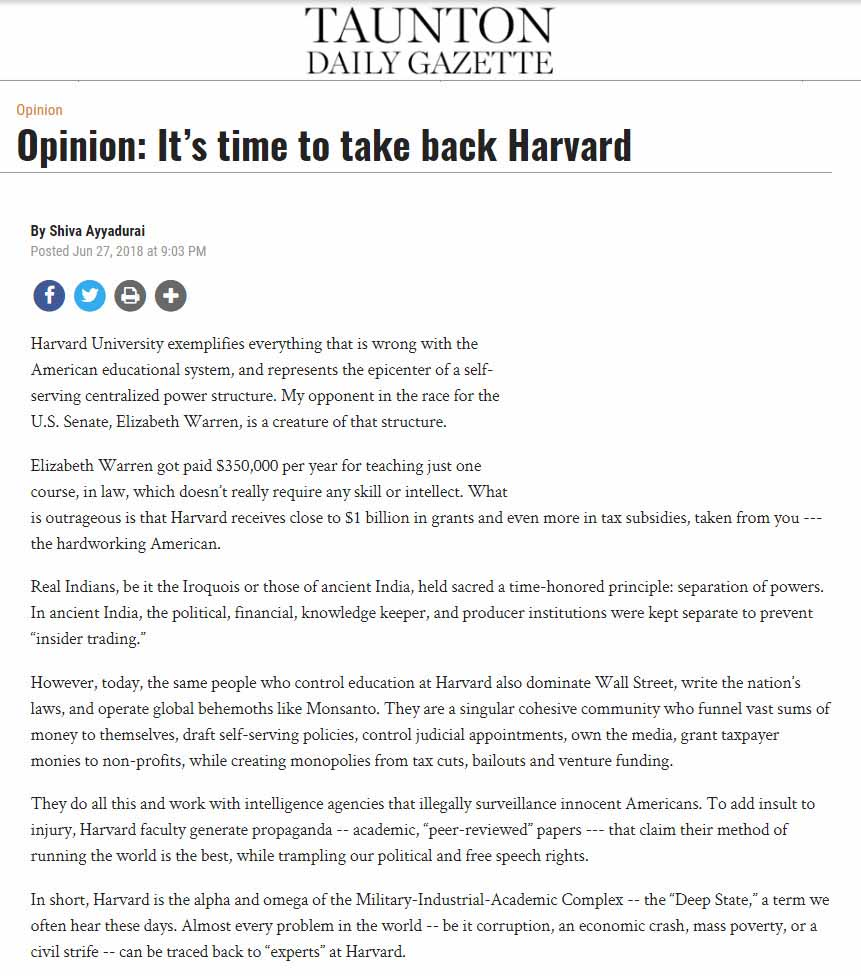 It's Time To Take Back Harvard