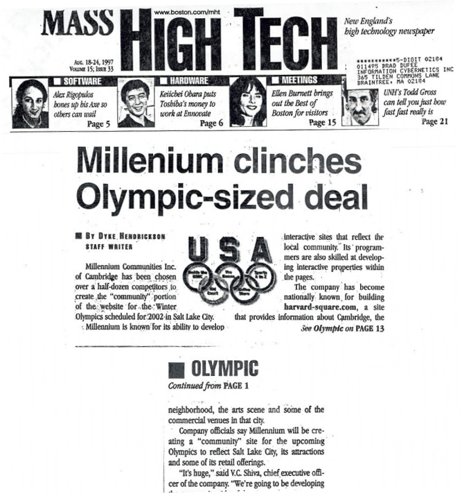 Millennium Clinches Olympic Sized Deal