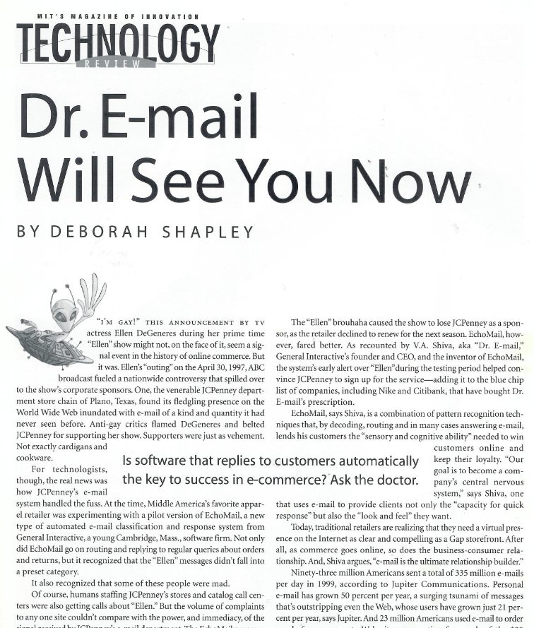 Dr. Email Will See You Now