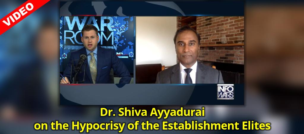 Dr. Shiva Ayyadurai On The Hypocrisy Of The Establishment Elites