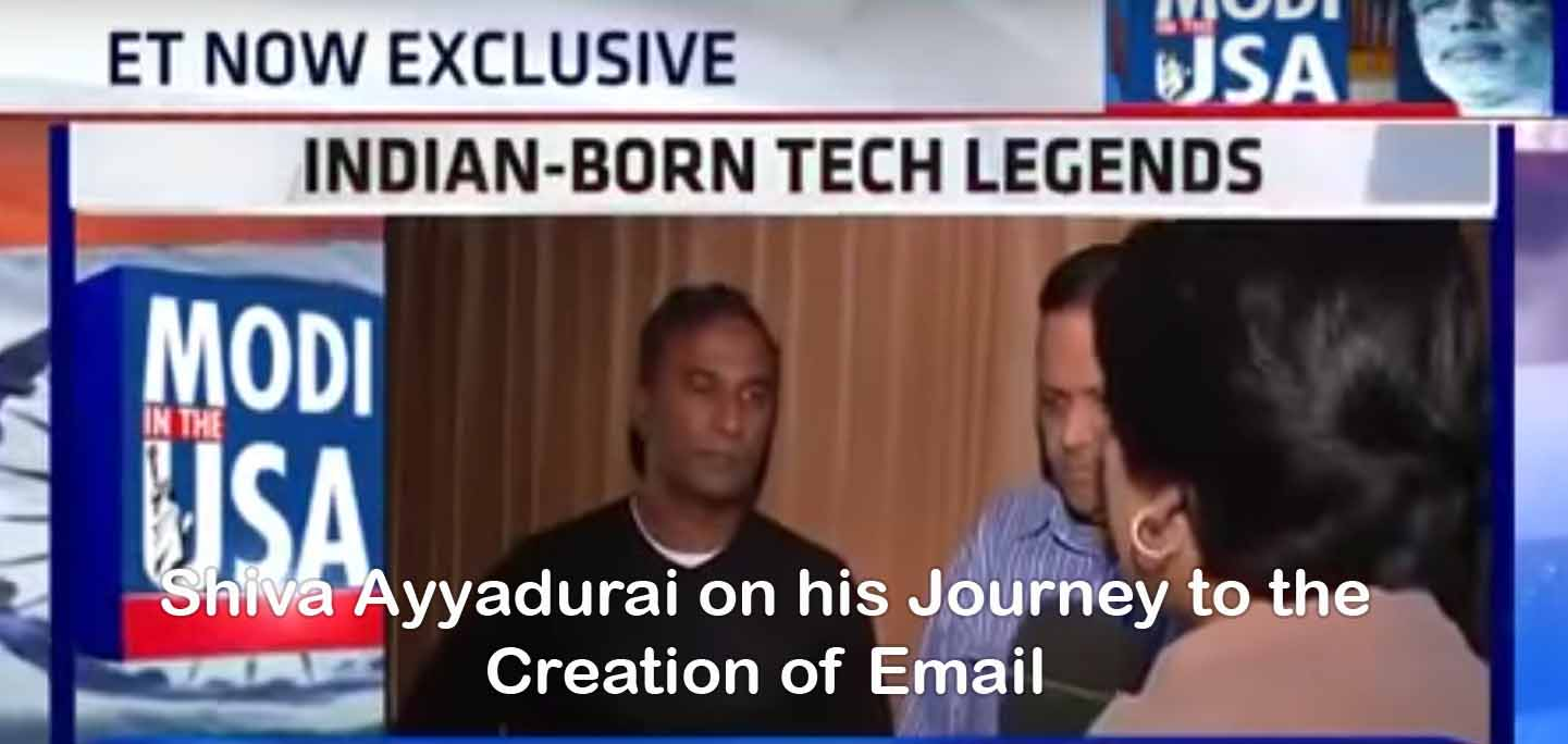 Shiva Ayyadurai On His Journey To The Creation Of Email