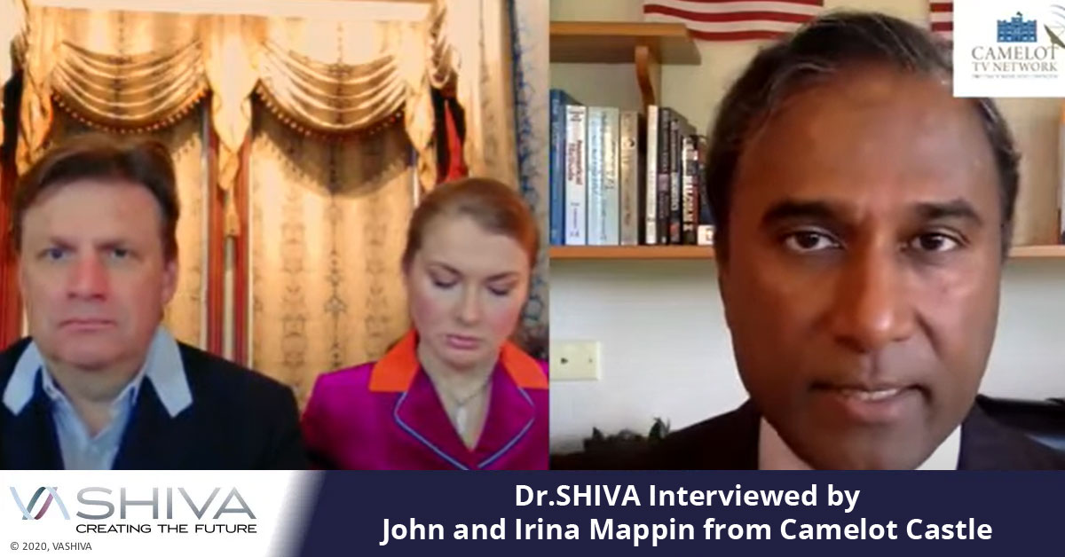 Dr.SHIVA Interviewed By John And Irina Mappin