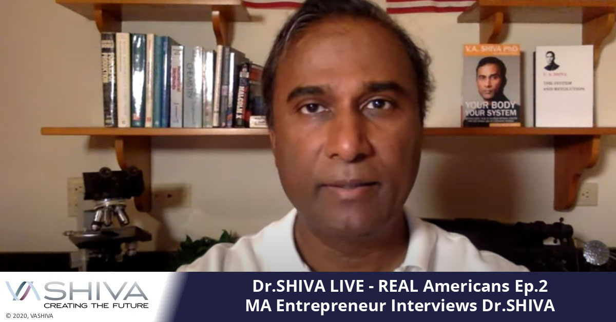 Dr.SHIVA LIVE: REAL Americans Ep.2