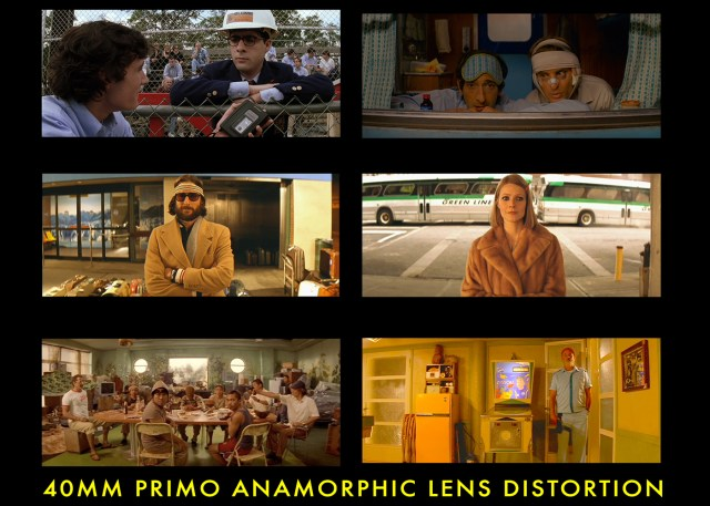 Wes Anderson 40mm frame grabs