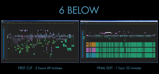 The first and final cut of 6 Below