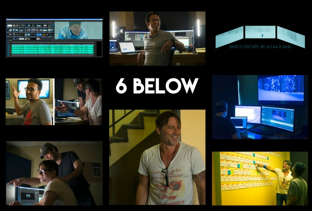 The 4 man post production team of 6Below