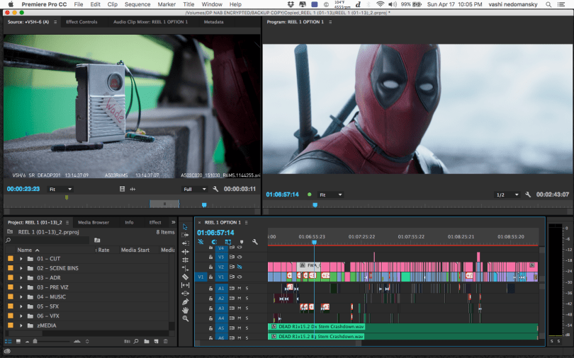 Editing Deadpool and Hail, Caesar! in Premiere Pro | Jonny