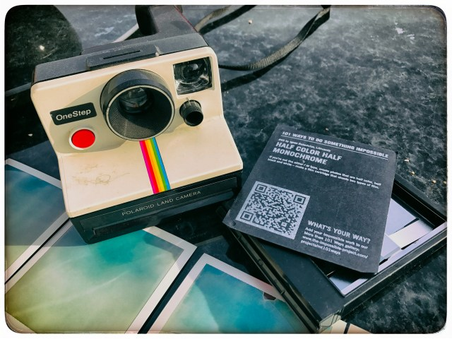 Test your Polaroid with a used film pack
