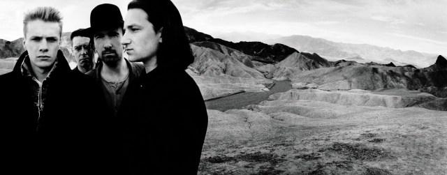 The iconic album cover photographed by Anton Corbijn