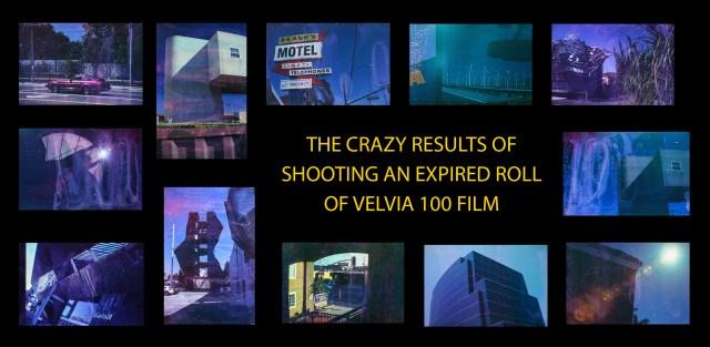 Expired Velvia 100 film