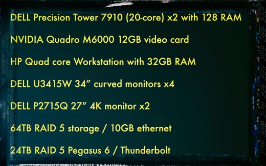 Dell Precision Tower and Other Hardware Specs