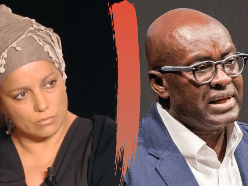 Houria Bouteldja and Achille Mbembe