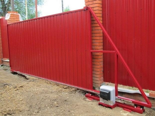 引き込み式自動ゲート3