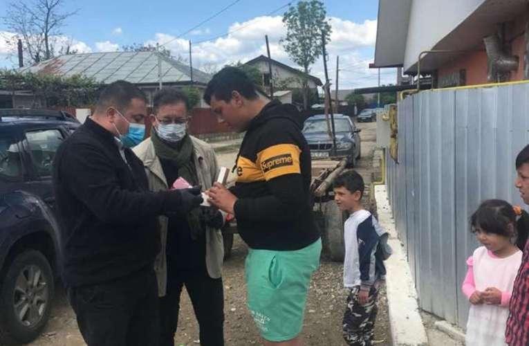 Deputat PSD, donație-supriză pentru doi copii