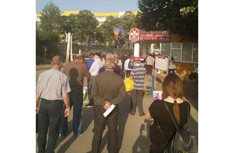 Când redeschid autoritățile spitalul de urgență de la Bârlad?