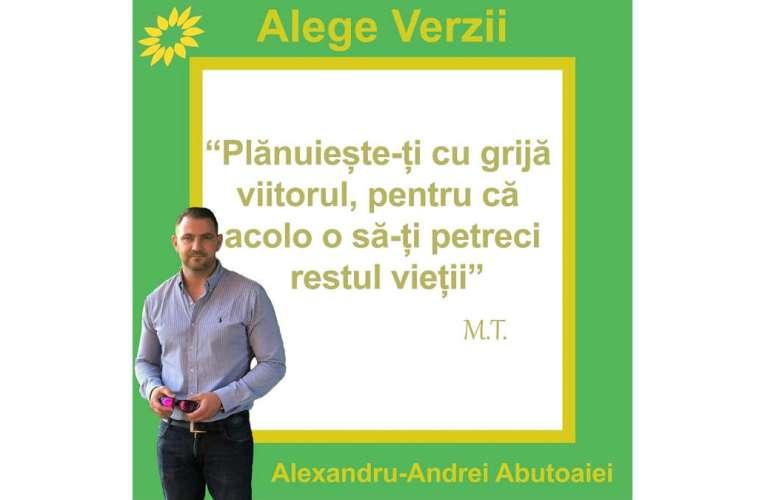 Verzii vasluieni au nevoie de sprijinul celor care cred în partidul lui Călinescu