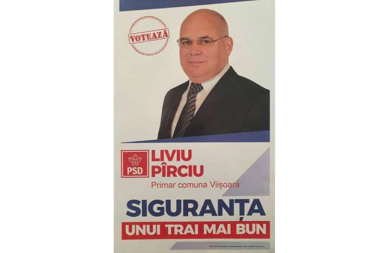 Liviu Pârciu, primarul de la Viișoara, un edil cu care locuitorii de acolo se mândresc!