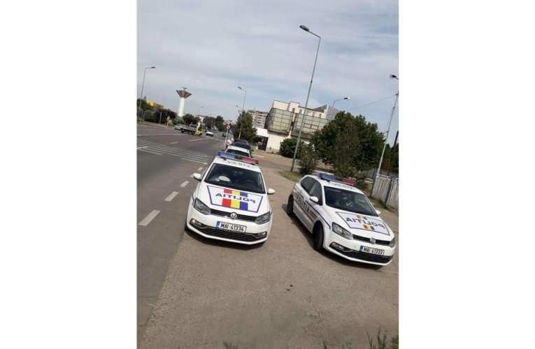 Șofer din Vrancea, prins fără permis de conducere pe Drumul European 581
