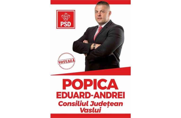 """Mesajul unui tânăr din noua generație de politicieni vasluieni: """"Îmi pasă de județul meu"""""""