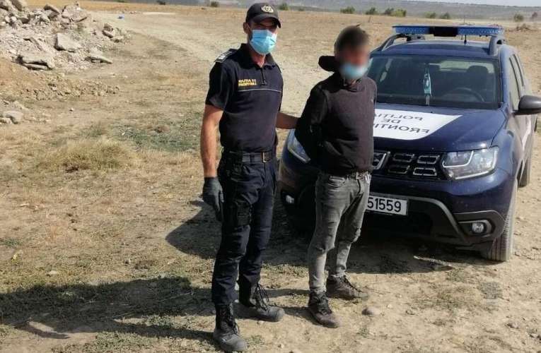 Nu și-a găsit loc de muncă în Moldova, așa că a fugit în România! A fost prins la Berezeni!