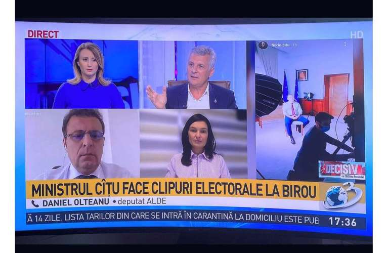 """Reacție dură a viitorului deputat PRO România, Daniel Olteanu, către liberali: """"Cu răbdări prăjite, nu mai merge!"""""""