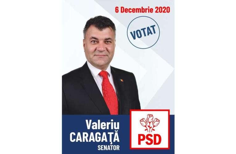"""De ce merită ales Valeriu Caragață la Senat? """"M-am născut în Vaslui, cunosc județul Vaslui, știu problemele vasluienilor!"""""""
