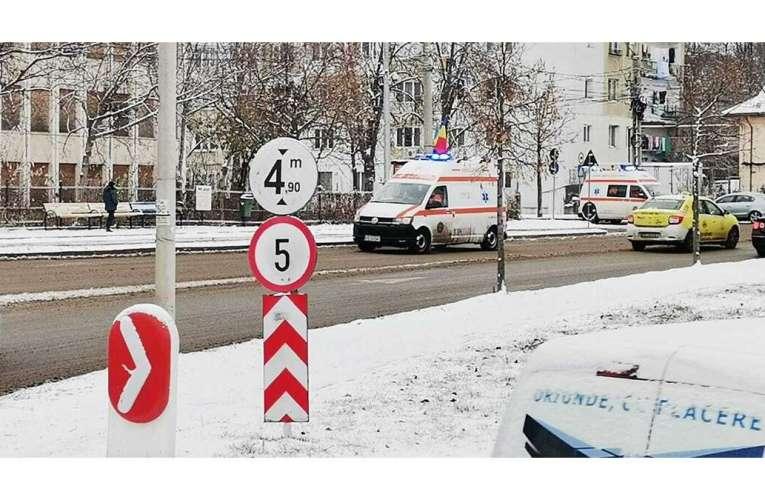 Accident cu CINCI victime la Zapodeni!