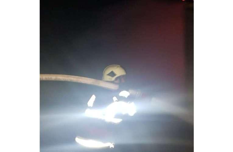 Accident în comuna Crețești, pe drumul european! Doua persoane s-au salvat în extremis!