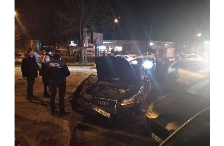 A fost reținut șoferul de 25 de ani care a provocat dezastrul din sensul giratoriu de la InterEx!