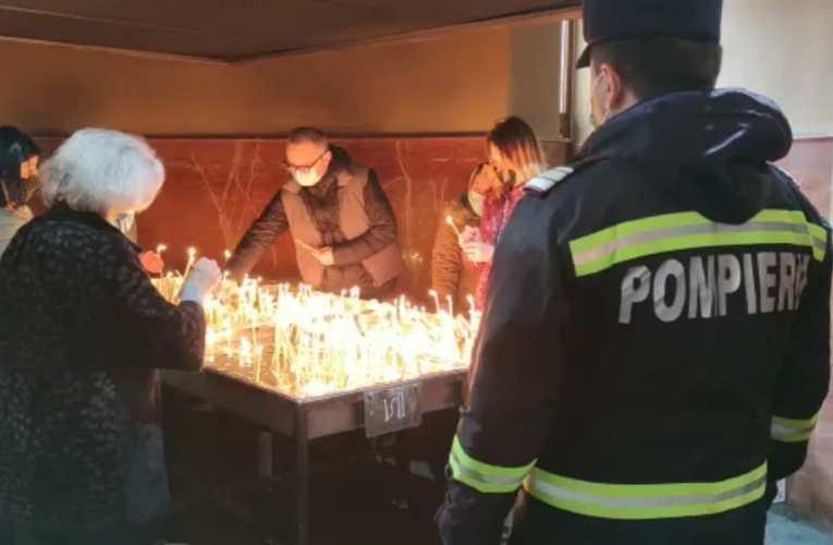 Bisericile si mãnãstirile vasluiene controlate de pompieri