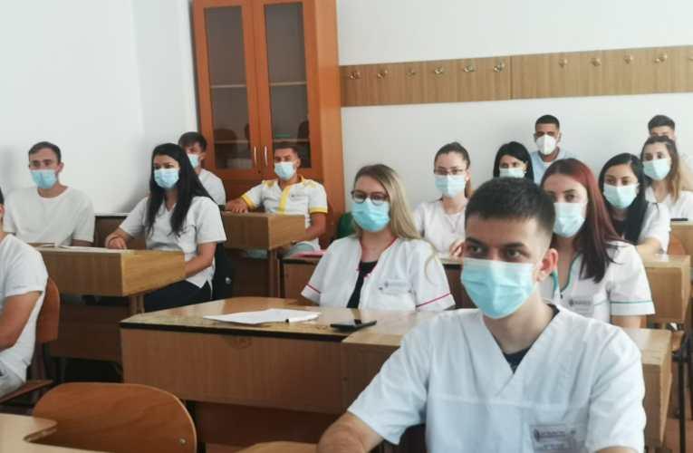 """Veniți din Germania, viitorii asistenți medicali ai școlii """"Radu Miron"""" și-au povestit impresiile"""