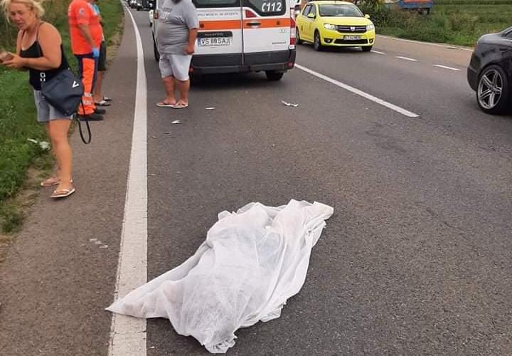 Accident mortal pe European, la intersecție cu drumul spre Bogdănești. Victima, un tânăr de 34 de ani, și-a găsit sfârșitul sub roțile unui TIR