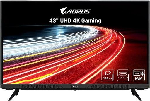 AORUS FV43U 43 KVM HDMI 2.1 Monitor