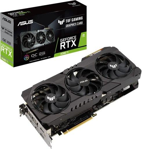 ASUS TUF Gaming GeForce RTX 3080 Ti OC Edition Graphics Card