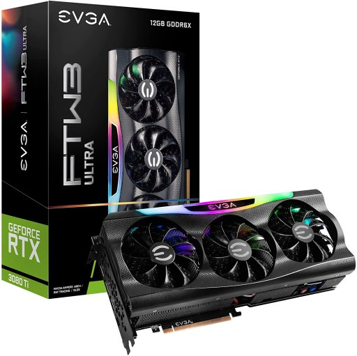 EVGA GeForce RTX 3080 Ti FTW3 Ultra Gaming Graphics Card