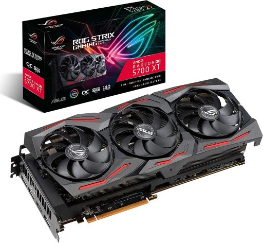 ASUS ROG Strix AMD Radeon RX 5700XT Overclocked Mining GPU