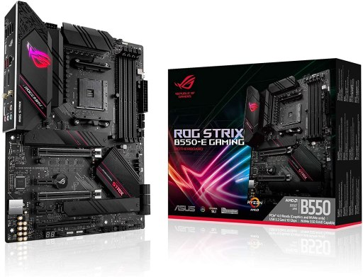 ASUS ROG Strix B550-E Gaming Motherboard With PCIe 4.0
