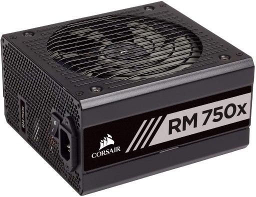 Corsair RMX Series, RM750x, 750 Watt Fully Modular Power Supply