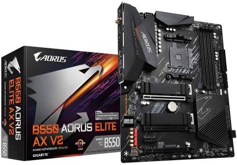 Gigabyte B550 AORUS ELITE AX V2 AMD Ryzen 5000 Motherboard