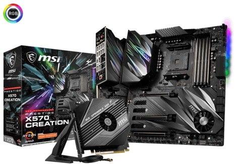 MSI Prestige X570 Creation Motherboard