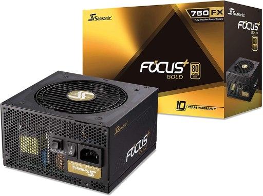 Seasonic FOCUS Plus 750 Gold SSR-750FX 750W