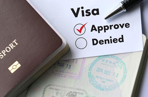 Approved Work Visa