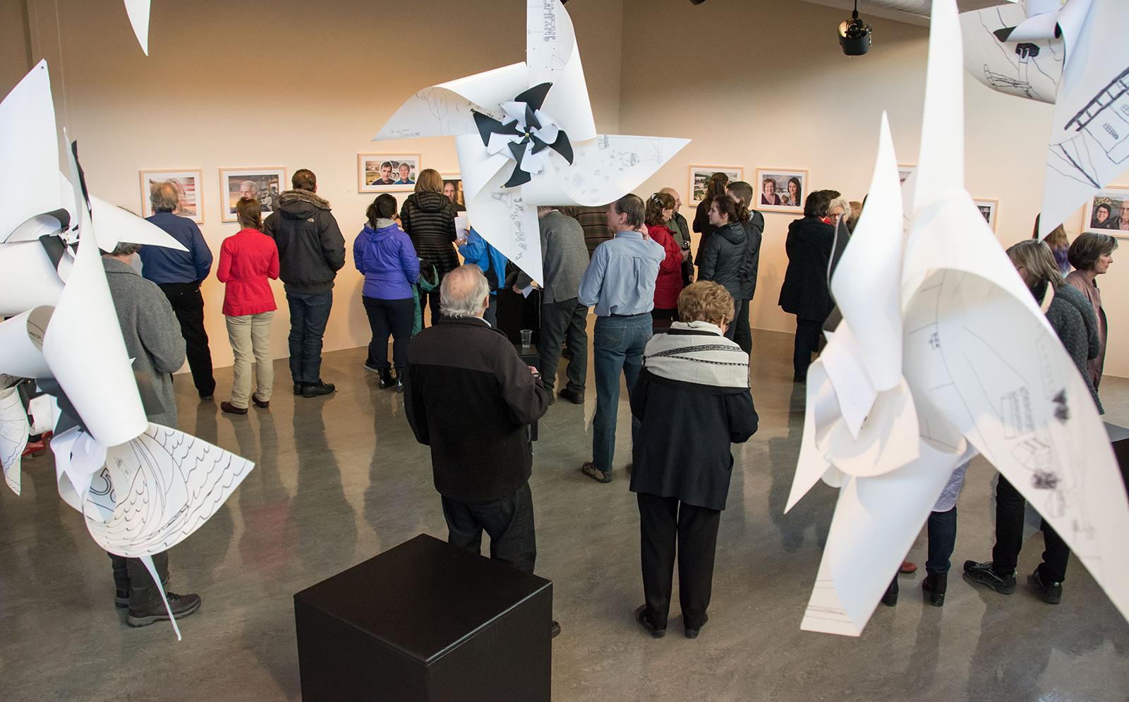 Vernissage SOUVENANCE Fernande Forest | Centre d'artistes Vaste et Vague