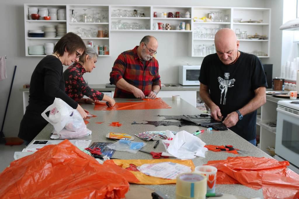 Thomas LANFRANCHI | CIEL DE NEIGE | Atelier : Centre communautaire l'Oasis de Percé, 2 mars 2019