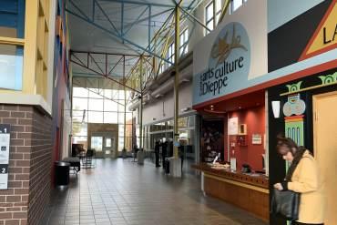 Le Centre des arts de Dieppe