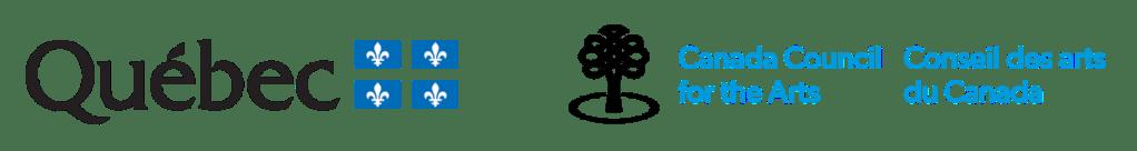 Logos gouvernement du Québec, Conseil des arts du Canada