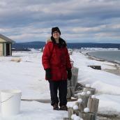 Caroline NOËL | Art in situ en contexte hivernal