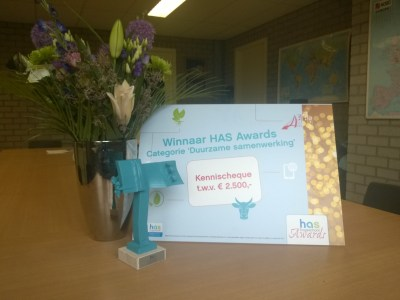 Winnaar HAS Awards